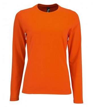 SOLS Womens/Ladies Imperial Long Sleeve T-Shirt (M)