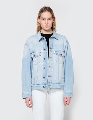 Over Denim Jacket $444 thestylecure.com