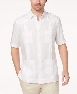 Tasso Elba Men Linen Shirt