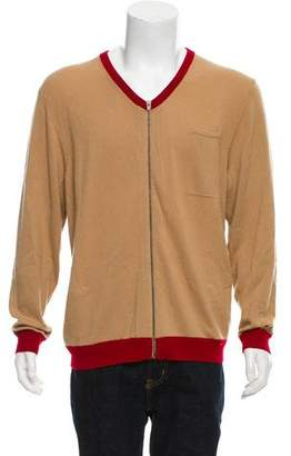 Opening Ceremony Woven V-Neck Sweater