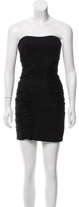 Cynthia Steffe Ruched Strapless Dress