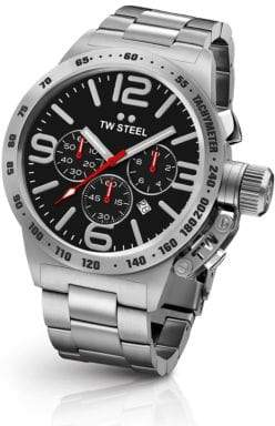 TW Steel Canteen 50MM Stainless Steel Bracelet Watch