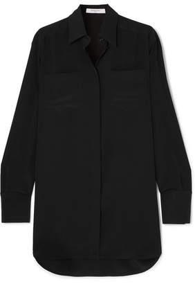 Givenchy Silk Crepe De Chine Shirt - Black