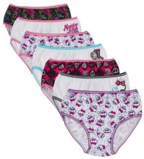 Monster High Girls Underwear 7 Pack