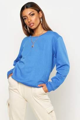 boohoo Crew Neck Sweatshirt