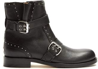 Jimmy Choo Blyss studded leather ankle boots