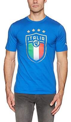 Puma Men's FIGC Italia Badge Tee