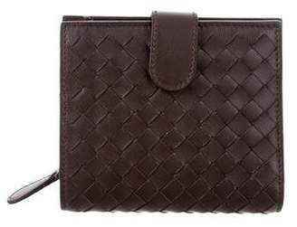 Bottega Veneta Intrecciato Leather Wallet w/ Tags