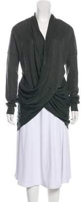 Alexander Wang Wool Long Sleeve Cardigan
