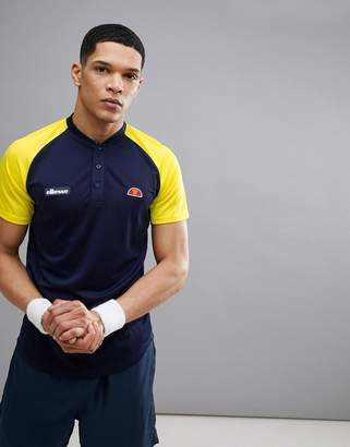 Ellesse Tennis Polo In Navy
