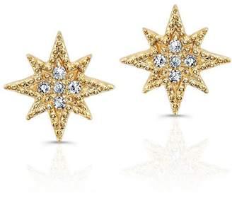 Anne Sisteron Diamond North Star Stud Earrings