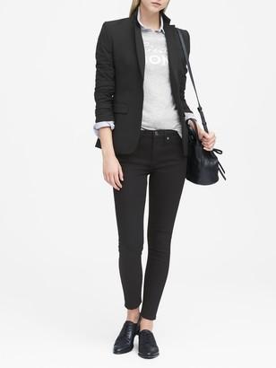 Banana Republic Long and Lean-Fit Lightweight Wool Blazer