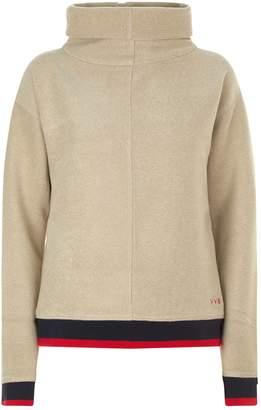 Victoria Beckham Victoria, Contrast Trim Sweater
