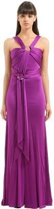 Roberto Cavalli Draped Dress