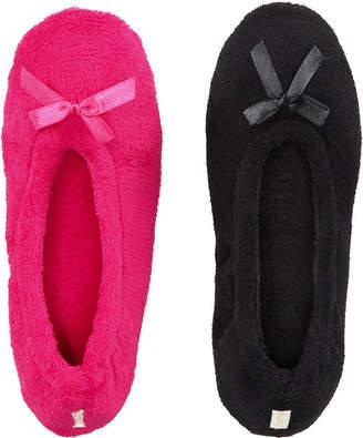 Gold Toe Women's 2-Pk. Ballerina Slippers