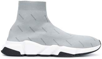 Balenciaga logo speed low sneakers