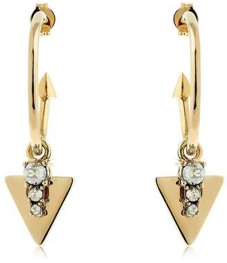 Schield Tribal Hoop Earrings