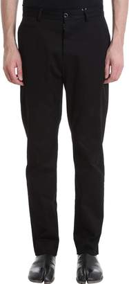 Maison Margiela Black Wool Pants