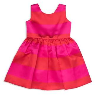 Kate Spade Girls' Striped Satin Carolyn Dress - Little Kid
