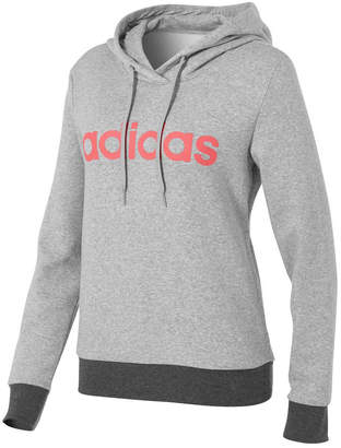adidas Womens Essentials Liner Pullover Hoodie