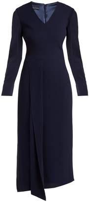 DAY Birger et Mikkelsen CARL KAPP Shrimpton wool-crepe dress