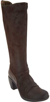 Fly London Leather Tall Shaft Boots - Hean