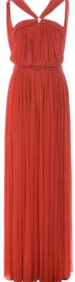 Maria Lucia Hohan Belted Pleated Dress