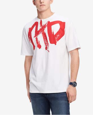 Tommy Hilfiger Men Graffiti Logo T-Shirt