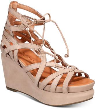 Gentle Souls by Kenneth Cole Women Joy Platform Wedge Sandals Women Shoes