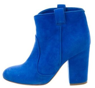 Laurence Dacade Suede Ankle Boots $220 thestylecure.com