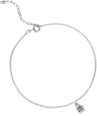 Lee Renee Ladybird Bracelet (Wings Closed) - Silver