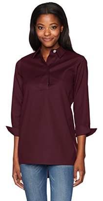 Foxcroft Women's BRE Solid Stretch Non Iron Tunic