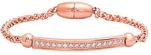 Steel by Design Stainless Crystal Station Magnetic Bracelet