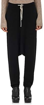 Rick Owens Women's Drop Rise Virgin Wool Drawstring Pants