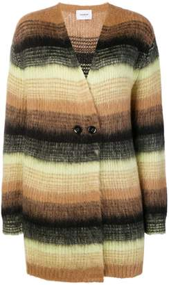 Dondup striped cardi-coat