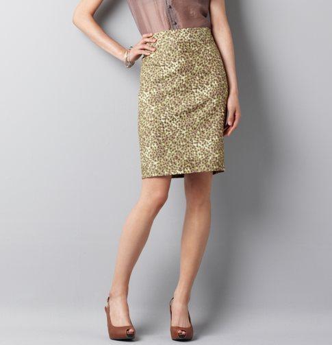 Ikat Mini Blooms Skirt