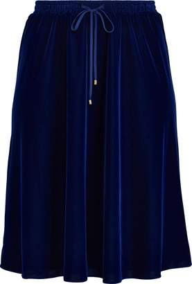 Ralph Lauren Velvet A-Line Skirt