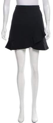 Lovers + Friends Ruffle Mini Skirt w/ Tags