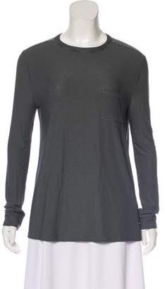 Alexander Wang Striped Long Sleeve T-Shirt