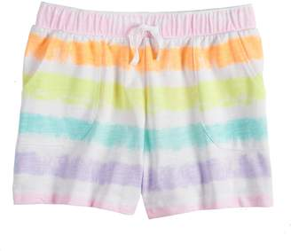 So Girls 7-16 & Plus Size SO Pattern Knit Shorts