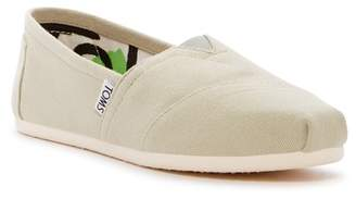 Toms Classic Canvas Slip-On Flat