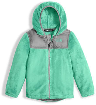 The North Face Girls' Oso Fleece Zip Hoodie, Green, Size 2-4T