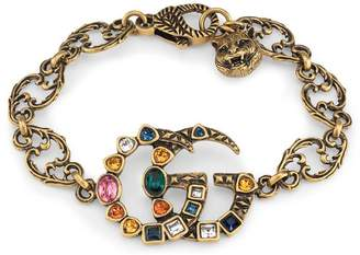Gucci Crystal Double G bracelet