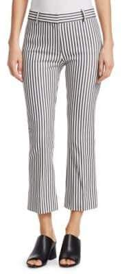 Derek Lam 10 Crosby Striped Cropped Pants
