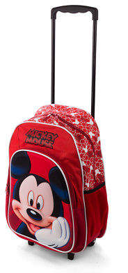 Disney NEW Mickey Mouse Trolley Backpack