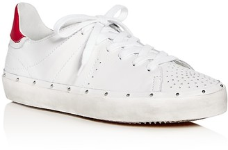 Rebecca Minkoff Michell Lace Up Sneakers $175 thestylecure.com