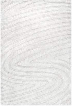 nuLoom Handmade Isabel Swirl Rug - Off White