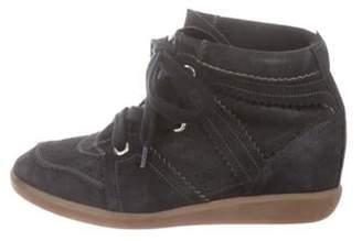 Isabel Marant Bobby Wedge Sneakers Black Bobby Wedge Sneakers