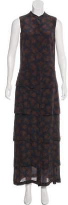 A.L.C. Printed Tiered Dress
