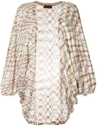 Missoni long open front cardigan